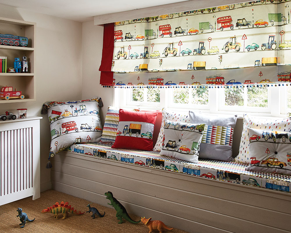 On The Road Roman Blind