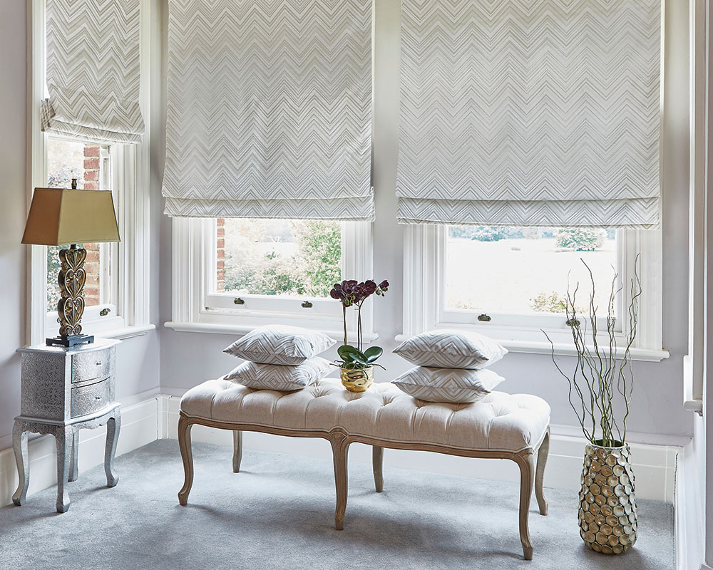 Apache Oyster Roman Blinds