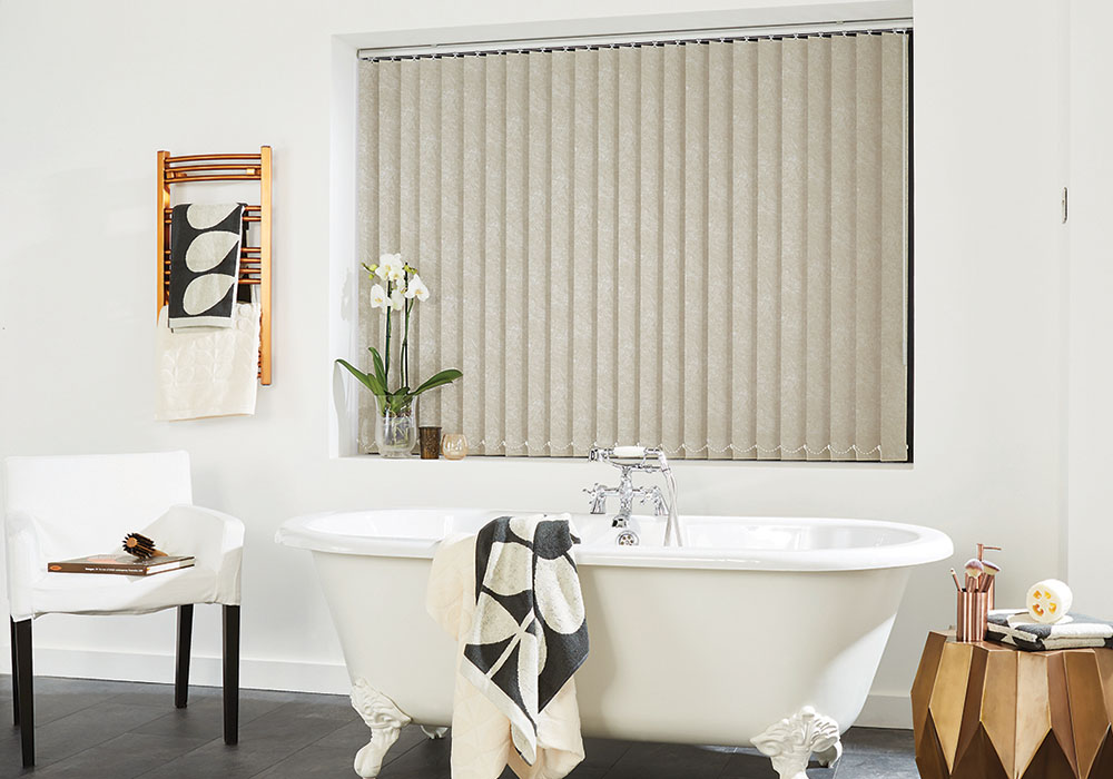 Romany Putty Vertical Blind