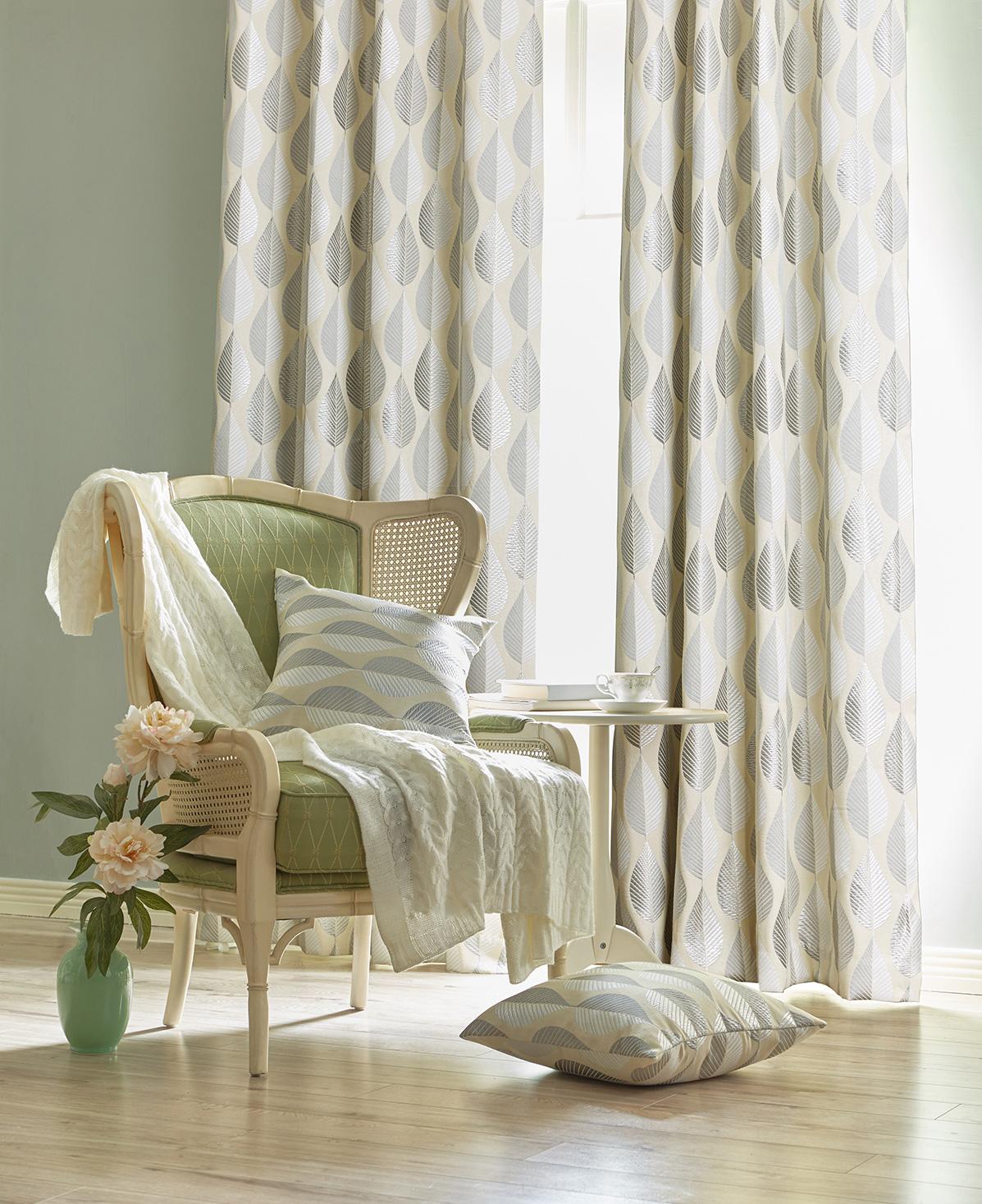 Hampton Natural Ready Made Curtains