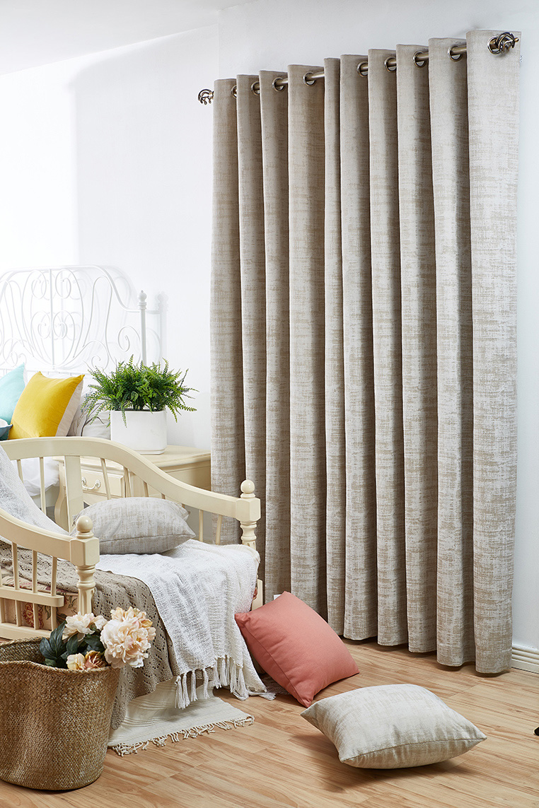 Marble Parchment-Ready Made Curtains