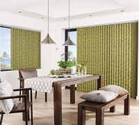 Paradise Charteuse Vertical Blind